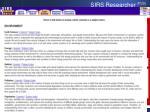 sirs researcher pls