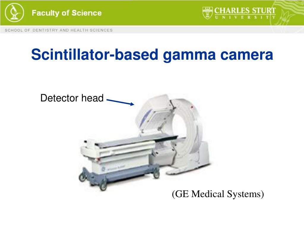 Scintillator-based gamma camera