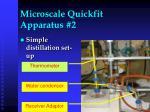 microscale quickfit apparatus 2