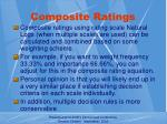 composite ratings