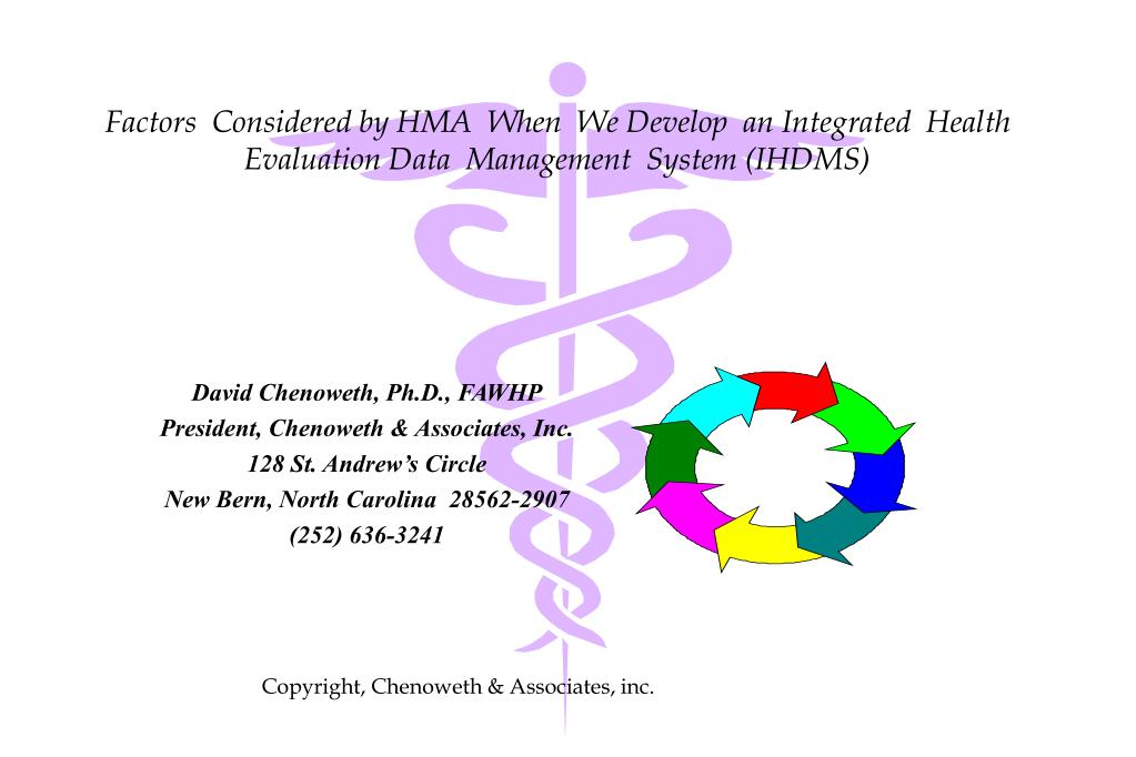 Ppt Factors Considered By Hma When We Develop An Integrated Health