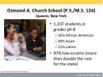 osmond a church school p s m s 124 queens new york