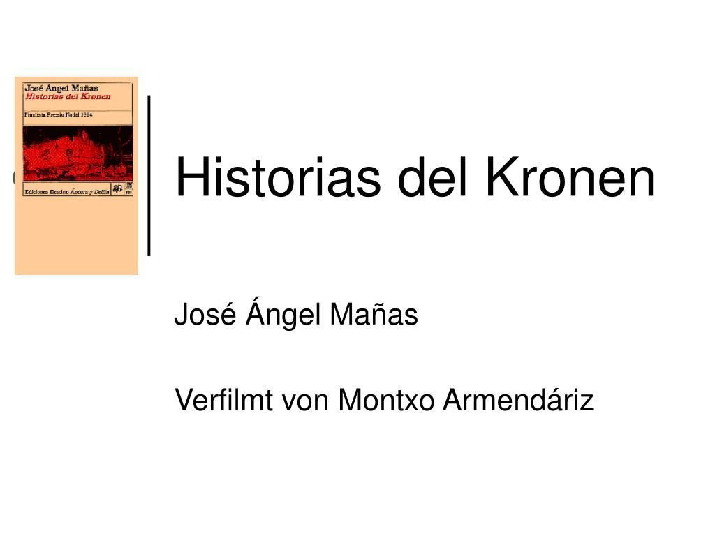 historias del kronen l.