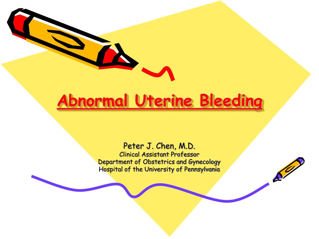 abnormal uterine bleeding l.