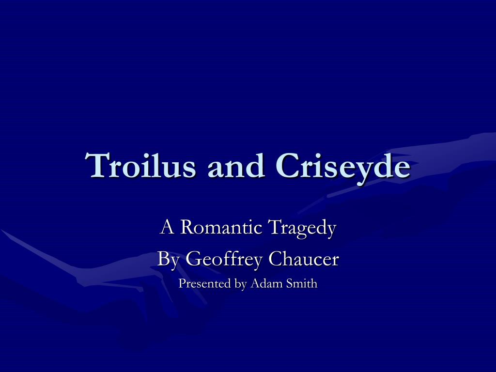 troilus and criseyde l.