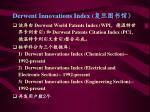 derwent innovations index