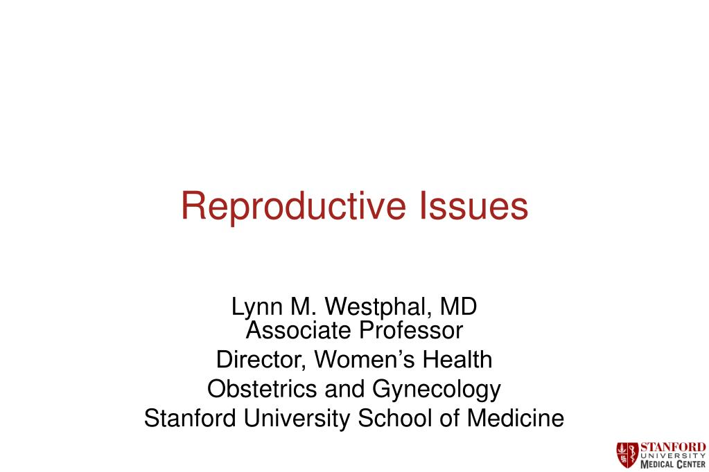 reproductive issues l.