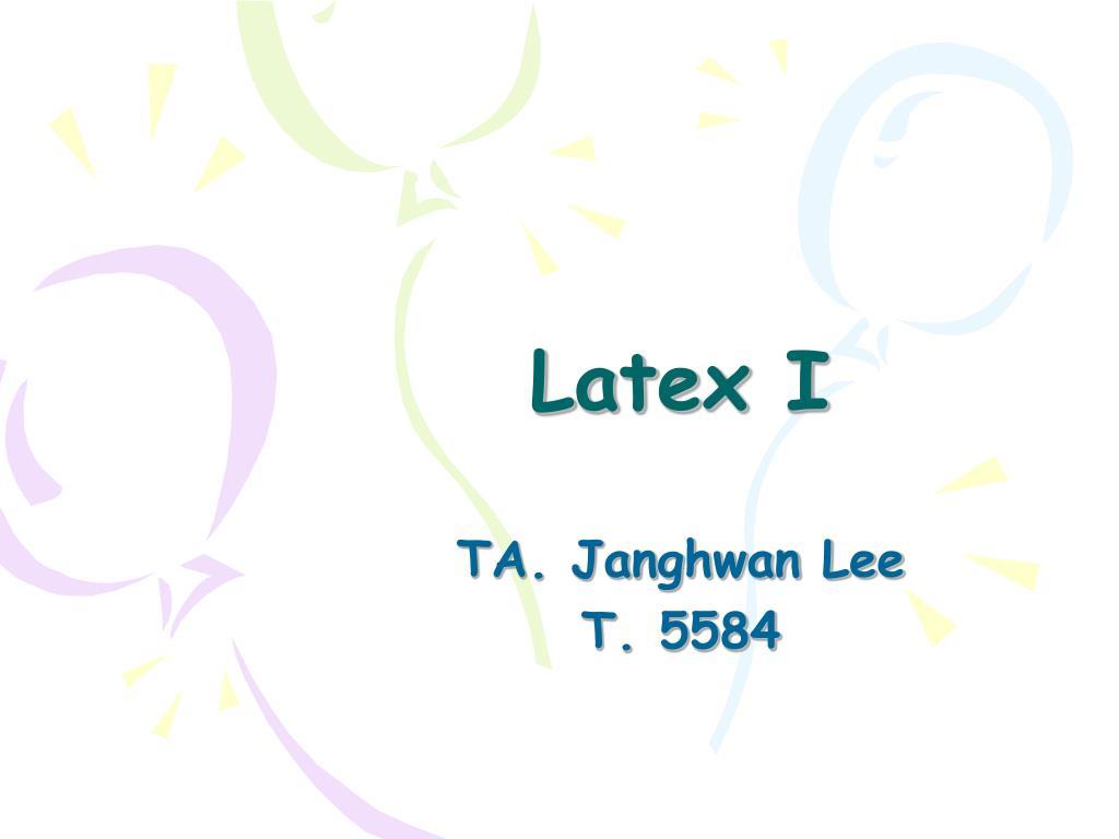 latex l.