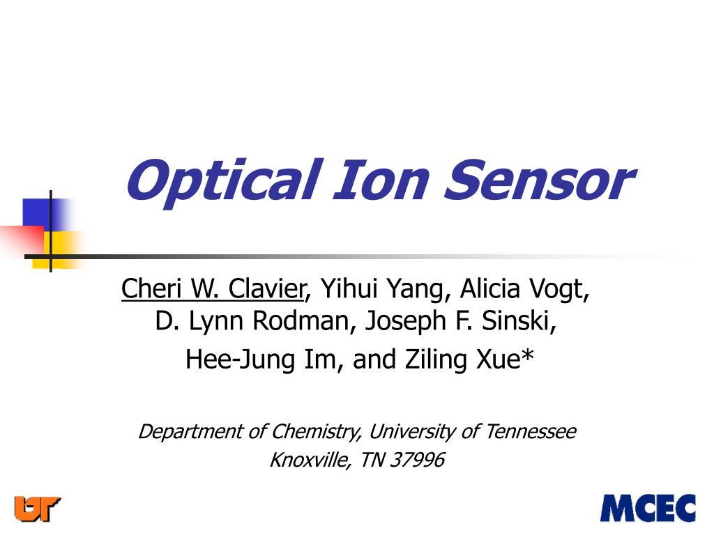 optical ion sensor l.