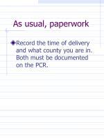 as usual paperwork