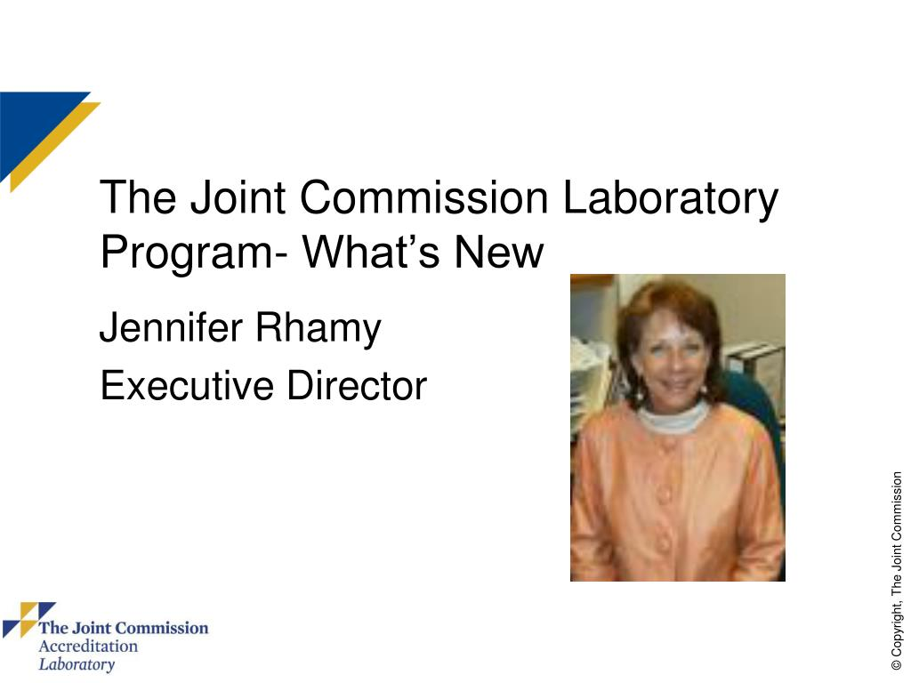 the joint commission laboratory program what s new l.
