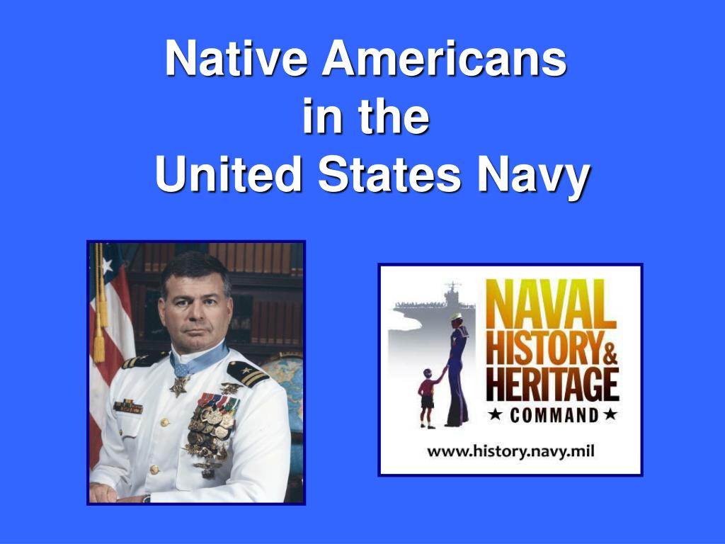 native americans in the united states navy l.