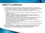 nsscf guidelines9