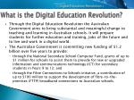 what is the digital education revolution