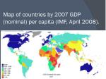 map of countries by 2007 gdp nominal per capita imf april 2008