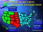 rso physical security regional distribution