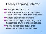 cheney s copying collector