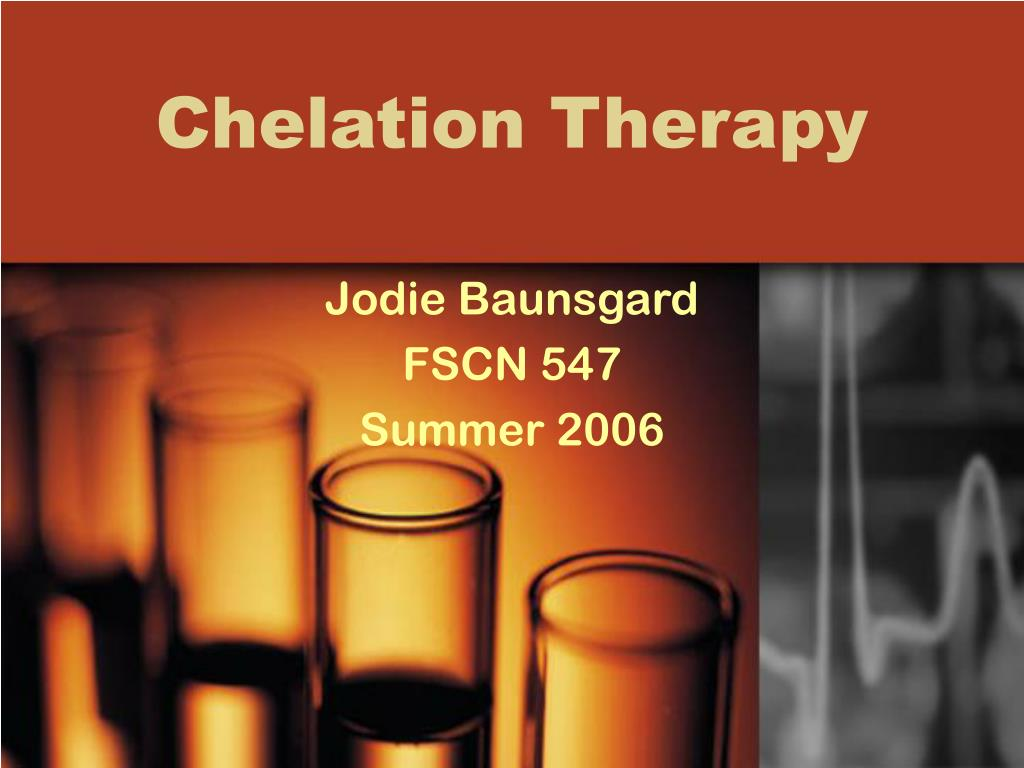 chelation therapy l.