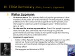 elitist democracy plato framers lippmann21