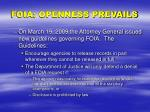 foia openness prevails1