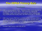 the hipaa privacy rule2