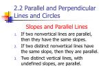 2 2 parallel and perpendicular lines and circles