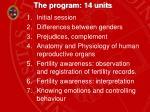 the program 14 units