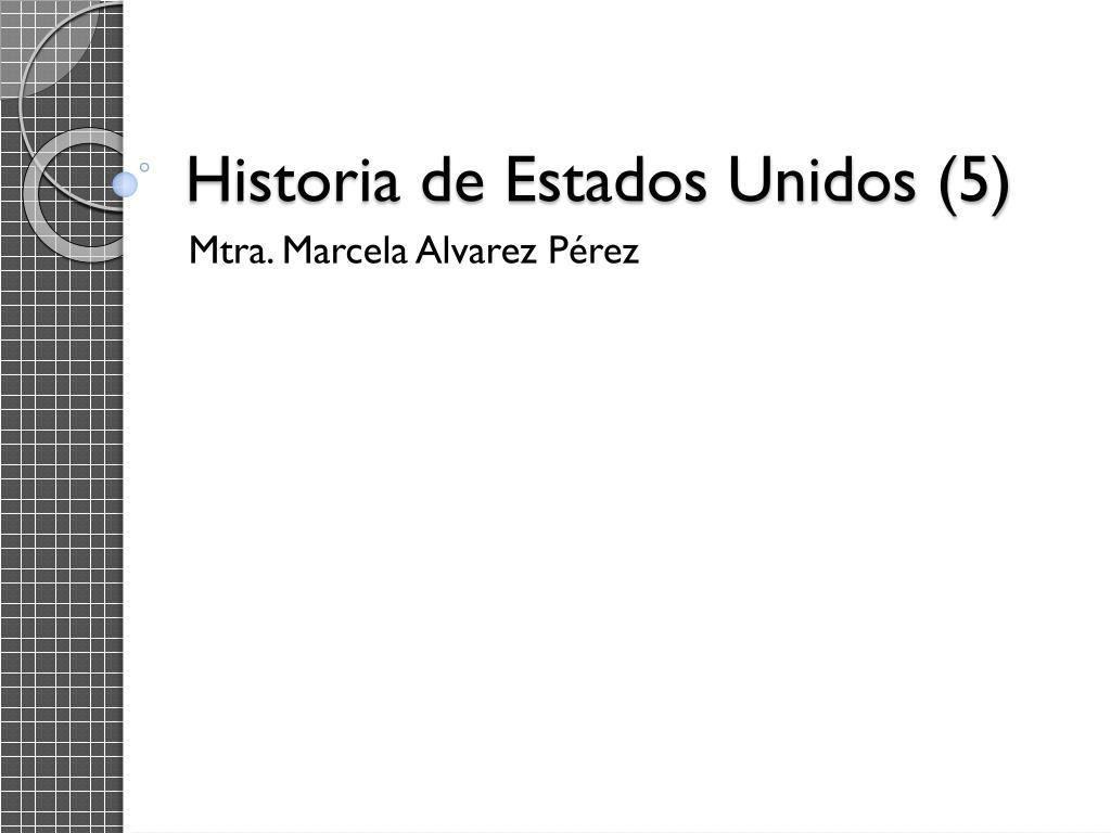 historia de estados unidos 5 l.