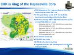 chk is king of the haynesville core
