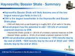 haynesville bossier shale summary
