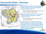 haynesville shale overview