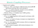kinetic coupling processes
