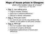 maps of house prices in glasgow what is the location value of a house gwilym pryce 12 th may 2005