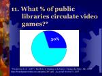 11 what of public libraries circulate video games