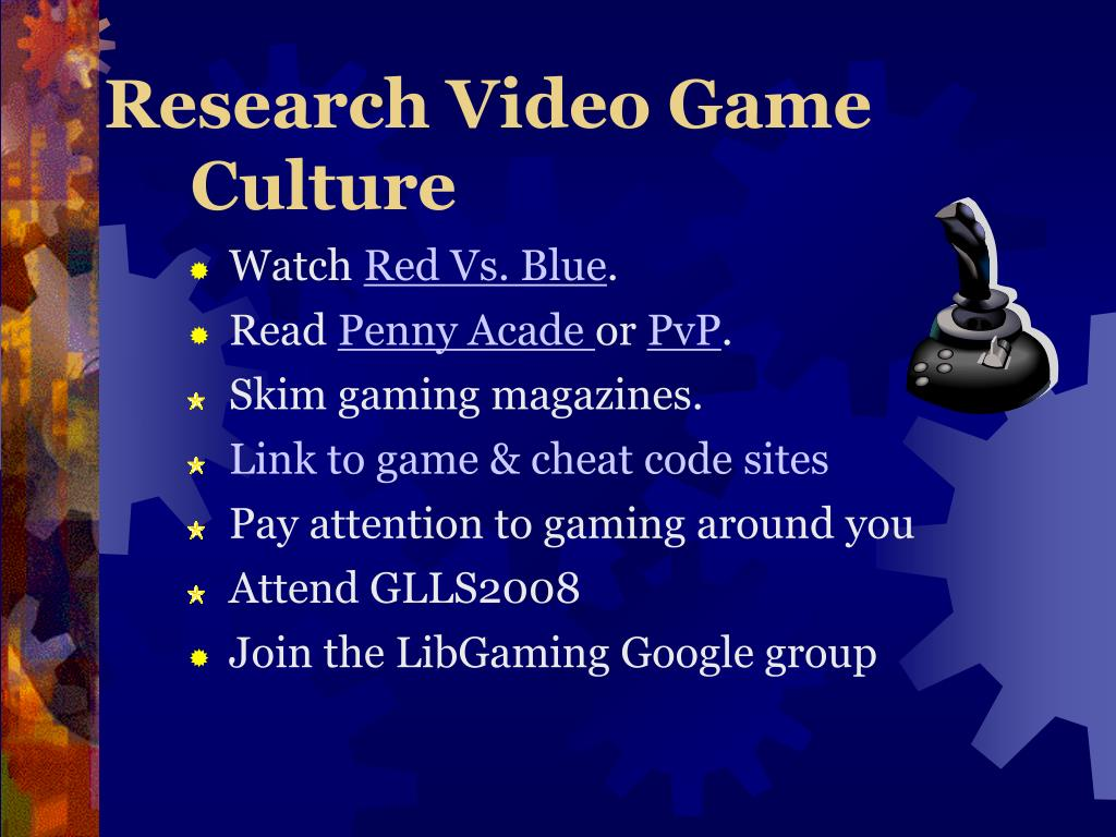 Research Video Game