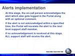 alerts implementation34