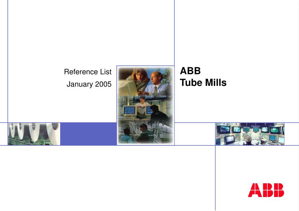 abb tube mills l.