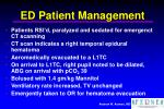 ed patient management