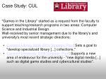 case study cul