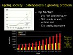 ageing society osteoporosis a growing problem