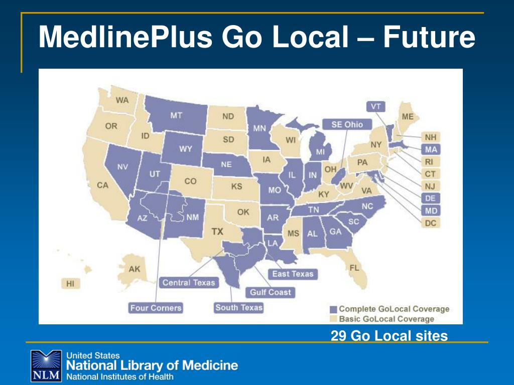 MedlinePlus Go Local – Future