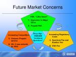 future market concerns