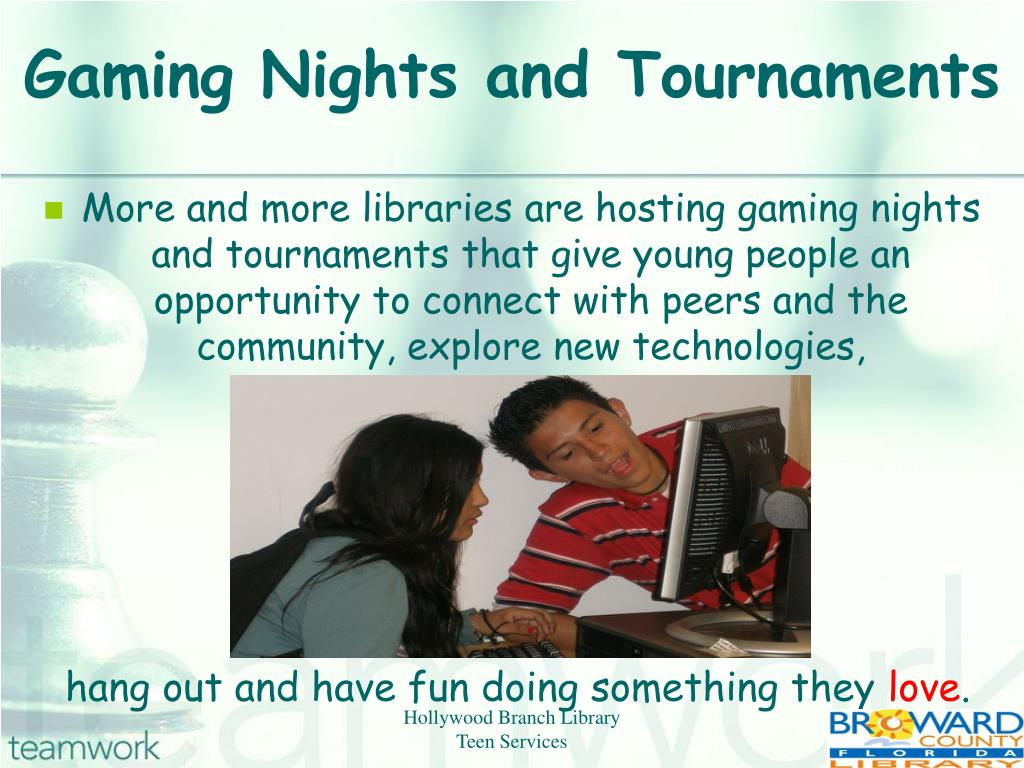 Gaming Nights and Tournaments