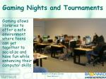 gaming nights and tournaments4