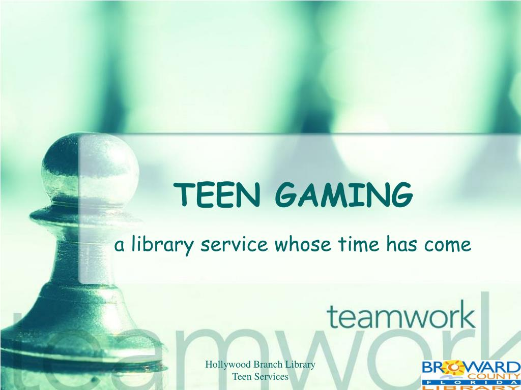 teen gaming l.