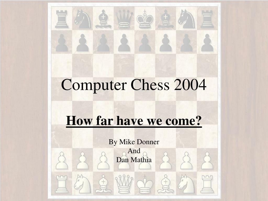computer chess 2004 l.
