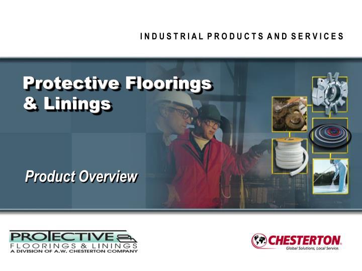 protective floorings linings n.