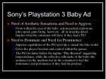 sony s playstation 3 baby ad15