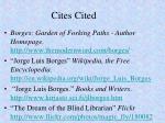 cites cited