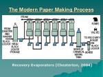 the modern paper making process19